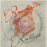 Rembrandt Rubbers 2 30x40 cm paper relief, pencil, ink